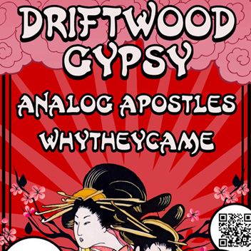 Driftwood Gypsy Concert Poster