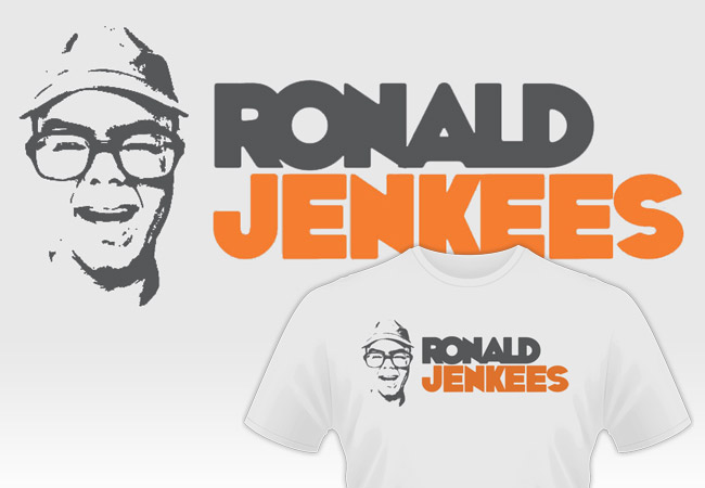 Ronald Jenkees shirt design