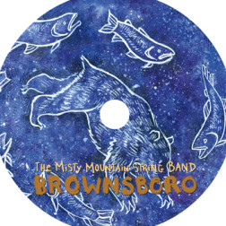 "Misty Mountain String Band ""Brownsboro"" CD Layout"
