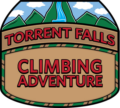 Torrent Falls Climbing Adventure Logo