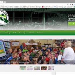 Wolfe County Public Library Website