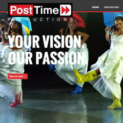 Post Time Productions Website by Derek Price