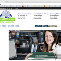 Muhlenberg County Public Libraries website
