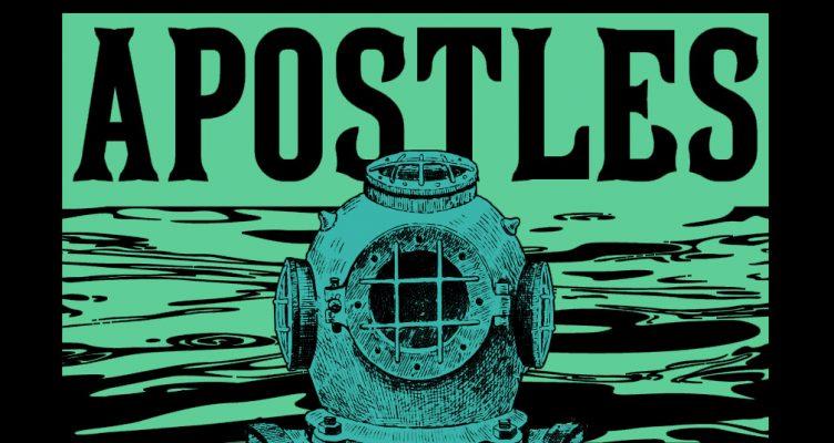 "Analog Apostles ""Deep Sea Diver"" band shirt design"