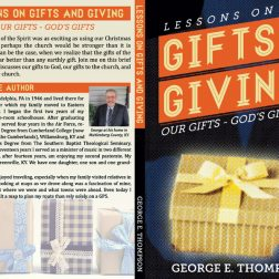 """Lessons on Gifts and Giving"" Book Cover Design"