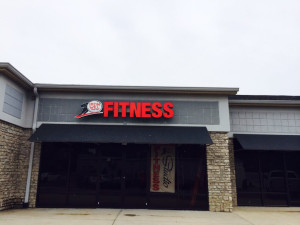 Iron Will Fitness Logo displayed at the Lexington, KY storefront