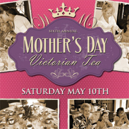"Muhlenberg County Public Libraries Thistle Cottage ""Mothers Day Victorian Tea 2014"" Poster"