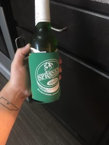 Christopher Sprankle coozie design