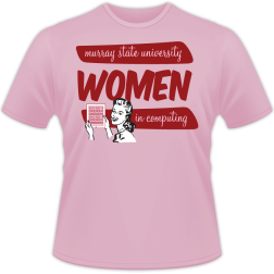 "Murray State University ""Women in Computing"" shirt"