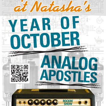 Year of October Concert Poster - Nashville, TN