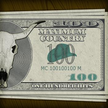 Maximum Country: 100 Hits Digital Music Download Art