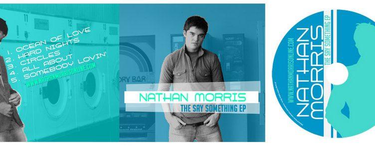 "Nathan Morris ""Say Something"" EP CD Design"