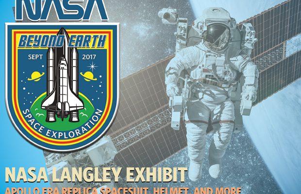 Museum exhibit ad design for NASA display in Kentucky