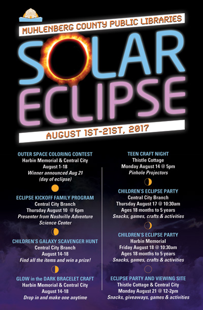 Solar Eclipse Event Poster