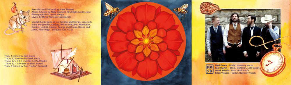 """Misty Mountain String Band """"Red Horizon"""" CD Design Digipack Inside"""