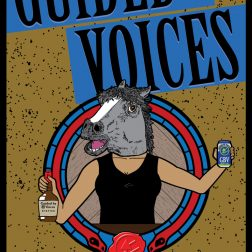 Custom concert poster design for Guided by Voices band