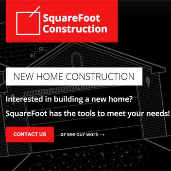 Squarefoot Construction Website - Lexington, KY building contractor