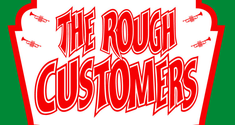 Rough Customers band shirt graphic design - Lexington, KY - graphic art