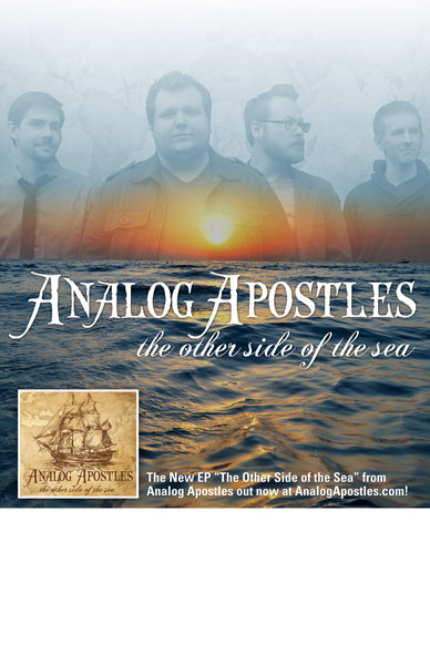 Analog Apostles Tour Poster Design