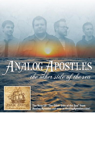 Analog Apostles Tour Poster Design