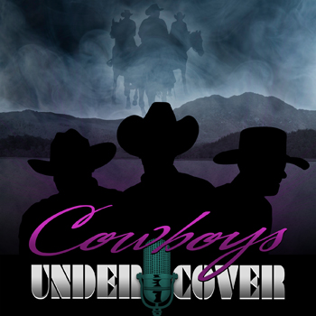 "Cowboy covers CD art design - ""Cowboys Undercover"" Digital Music Download Art for Wellington Beck"