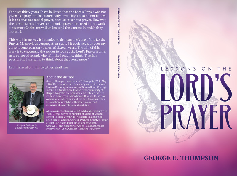 Prayer book cover design