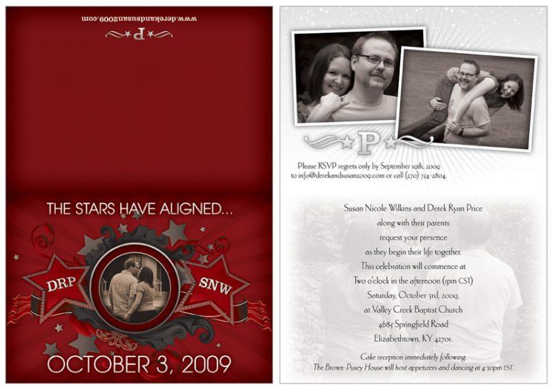 Wedding Invitation Design for Price family in Lexington, KY