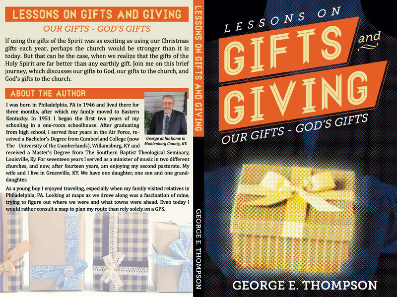 """Lessons on Gifts and Giving"" Book Cover Art"