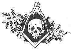 Original masonic image the grooming logo design is based on