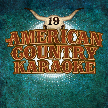 Karaoke album art design for country music CD