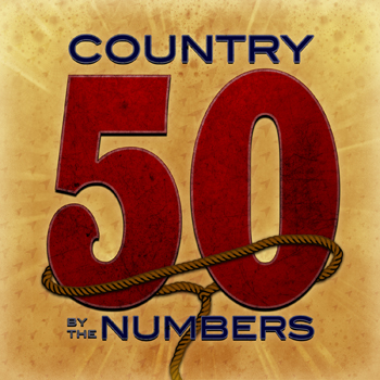 Country music album art for 50: Country by the Numbers - Digital Download CD