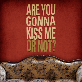 "CD art designer - ""Are You Gonna Kiss Me or Not?"" Digital Music Download Art"