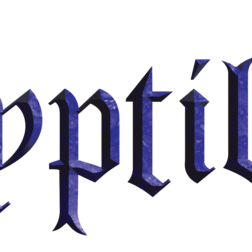 Cryptilith metal band logo design