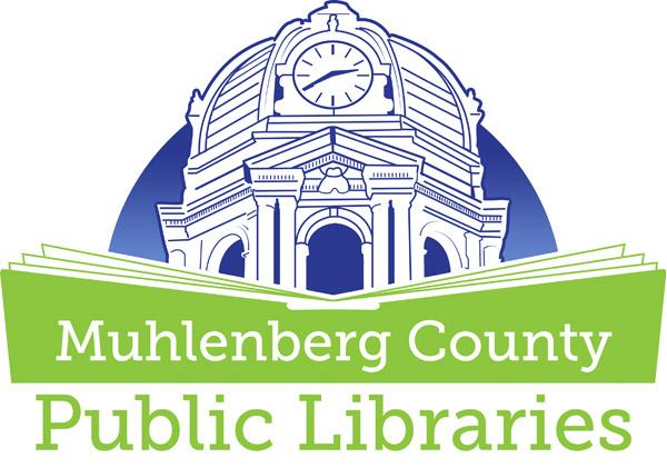 Muhlenberg County Public Library Logo design