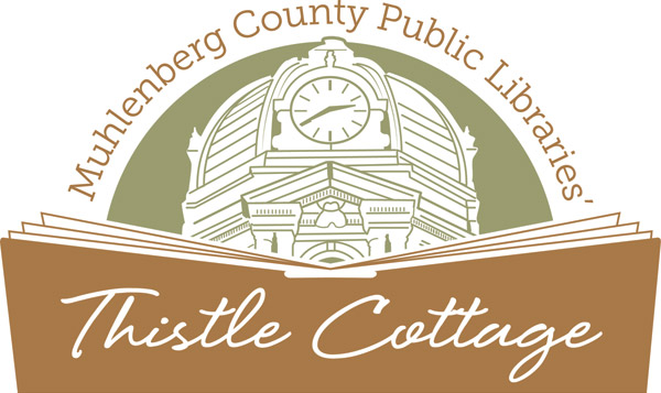 Muhlenberg County Public Libraries Thistle Cottage Logo
