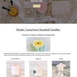 Abreu Brand ecommerce website design