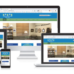 Responsive library web design for Cynthiana, KY public library