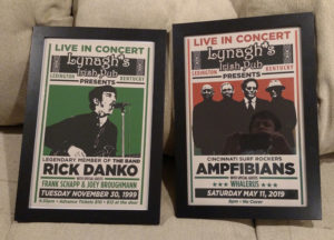 Rick Danko concert poster, along with another event flyer I used the template for.