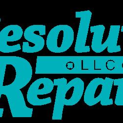 Resolute Repairs home repair contractor logo