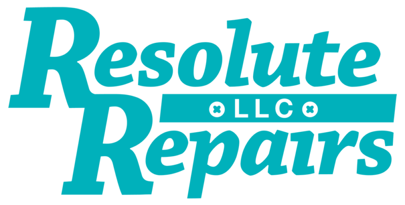 Resolute Repairs home repair contractor logo
