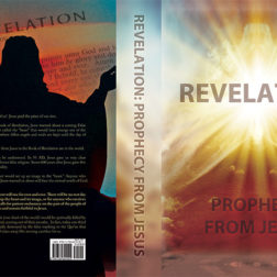 Christian book cover design for Revelation of Jesus