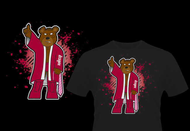 Daniel Bryan shirt design with teddy bear theme