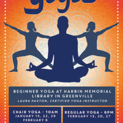 Yoga poster design for kentucky library